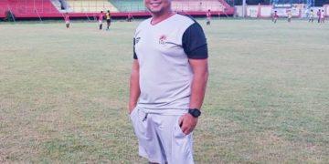 Pelatih Kalteng Putra Eko Tamamie