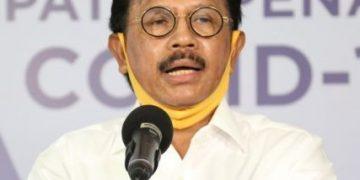 Menteri Komunikasi dan Informatika (Menkominfo) Johnny G Plate