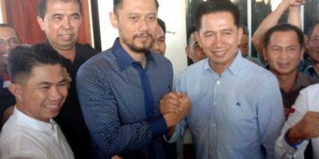 Ilustrasi, H Nadalsyah dan tim nya terlihat gembira mendapat dukungan penuh dari Agus Harimurti Yudhoyono Ketum DPP Partai Demokrat untuk mau pada Pilkada Kalteng beberapa waktu lalu.