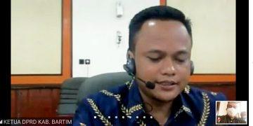 Ketua Dewan Perwakilan Rakyat Daerah Barito Timur, Kalimantan Tengah, Nur Sulistio