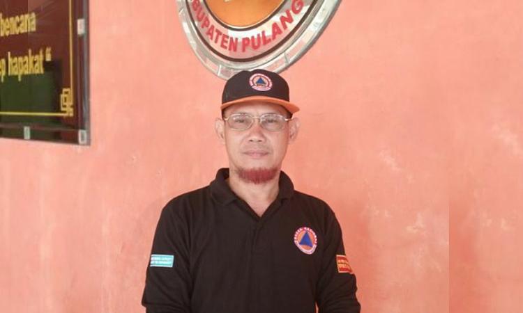 Sekretaris GTPP Covid-19 Pulang Pisau, Drs H Salahudin,.M.Si