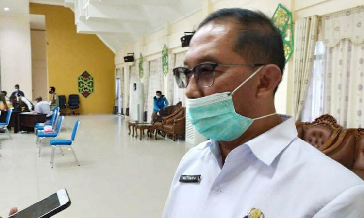 Juru bicara gugus tugas percepatan penanganan (GTPP) Covid-19 Pulang Pisau, dr Muliyanto Budihardjo