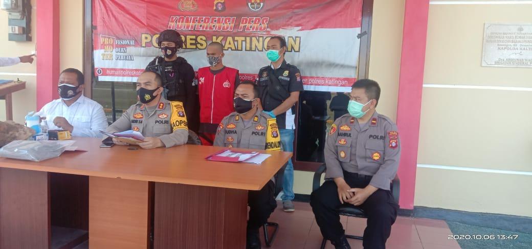 Konferensi pers tentang kasus perkelahian di Kecamatan Tengah, Selasa (6/10/2020)