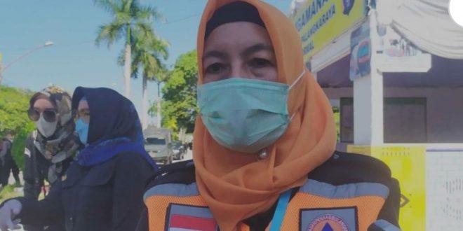 Ketua Harian Tim Satgas Covid-19 Kota Palangka Raya, Emi Abriyani