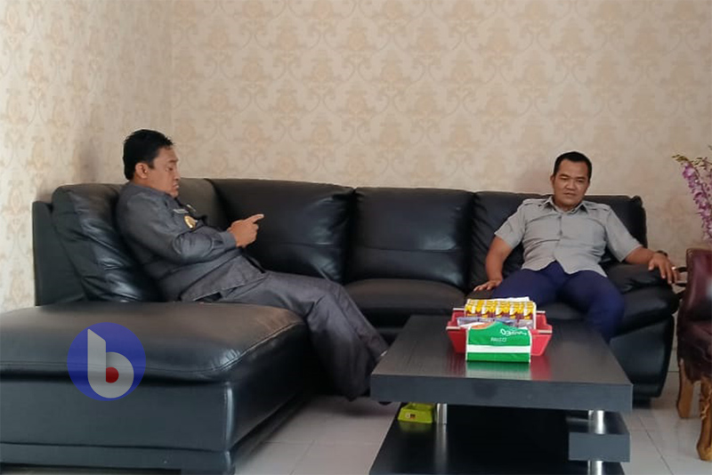 Bupati Pulang Pisau, H Edy Pratowo dan Ketua DPRD Kabupaten Pulang Pisau H Ahmad Rifa'i