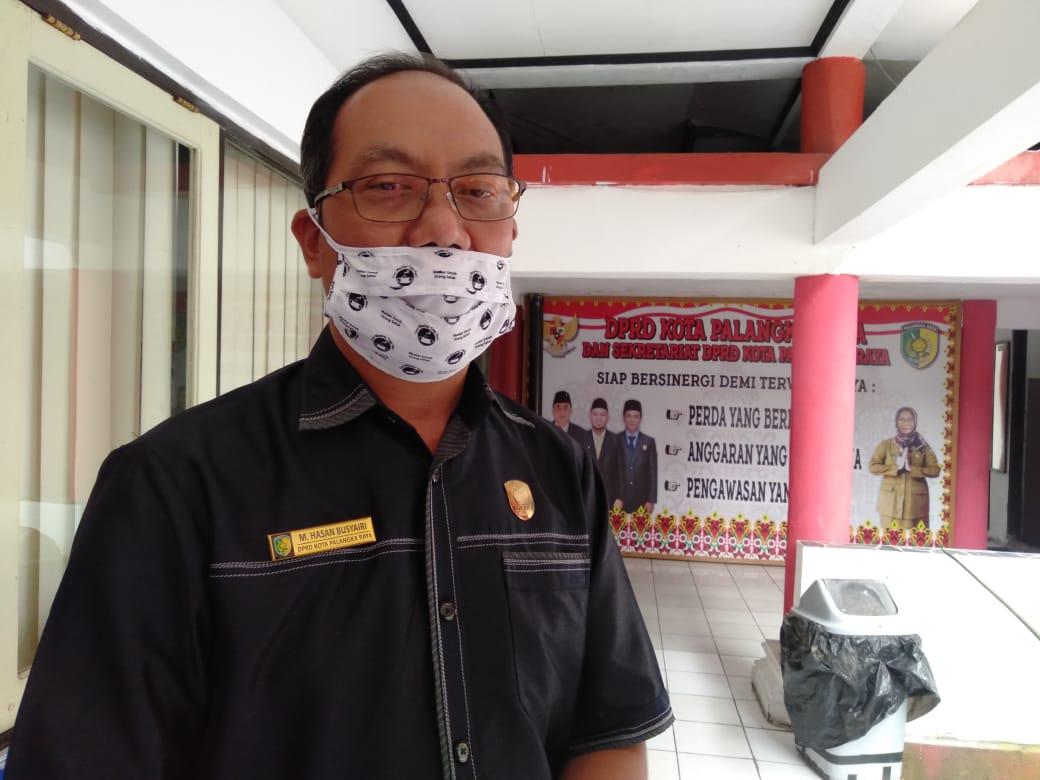 Wakil Ketua I DPRD Kota Palangka Raya, M. Hasan Busyairi