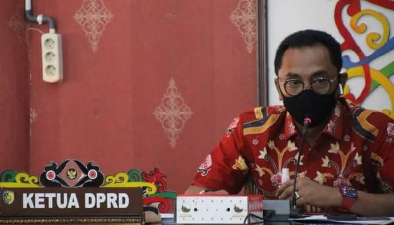 Ketua DPRD Palangka Raya, Sigit K Yunianto