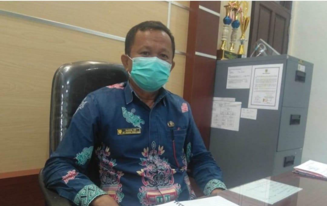 Kepala Dinas Tenaga Kerja, Transmigrasi, Koperasi dan UKM Kabupaten Gunung Mas, Sudin, SE
