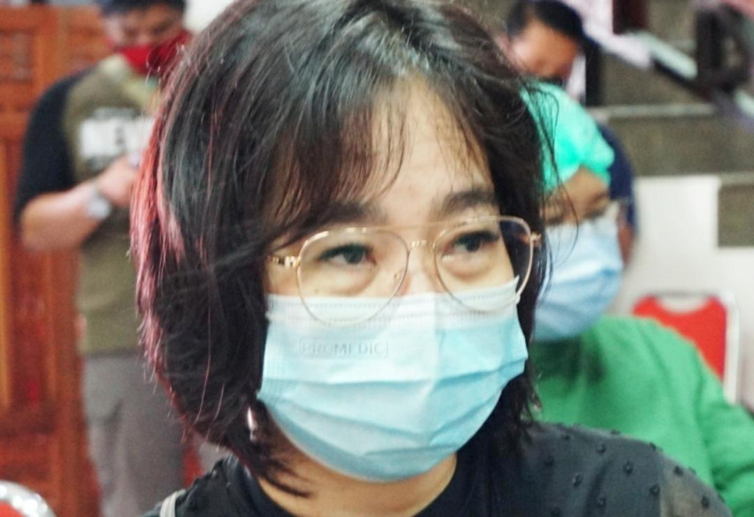 Anggota DPRD Provinsi Kalteng dari Fraksi PDI Perjuangan, Ina Prayawati