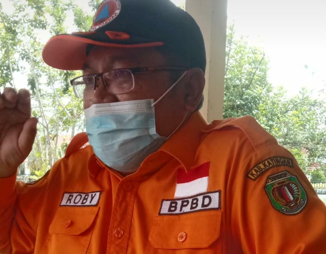 Kepala Pelaksana BPBD Kabupaten Katingan, Drs. Roby