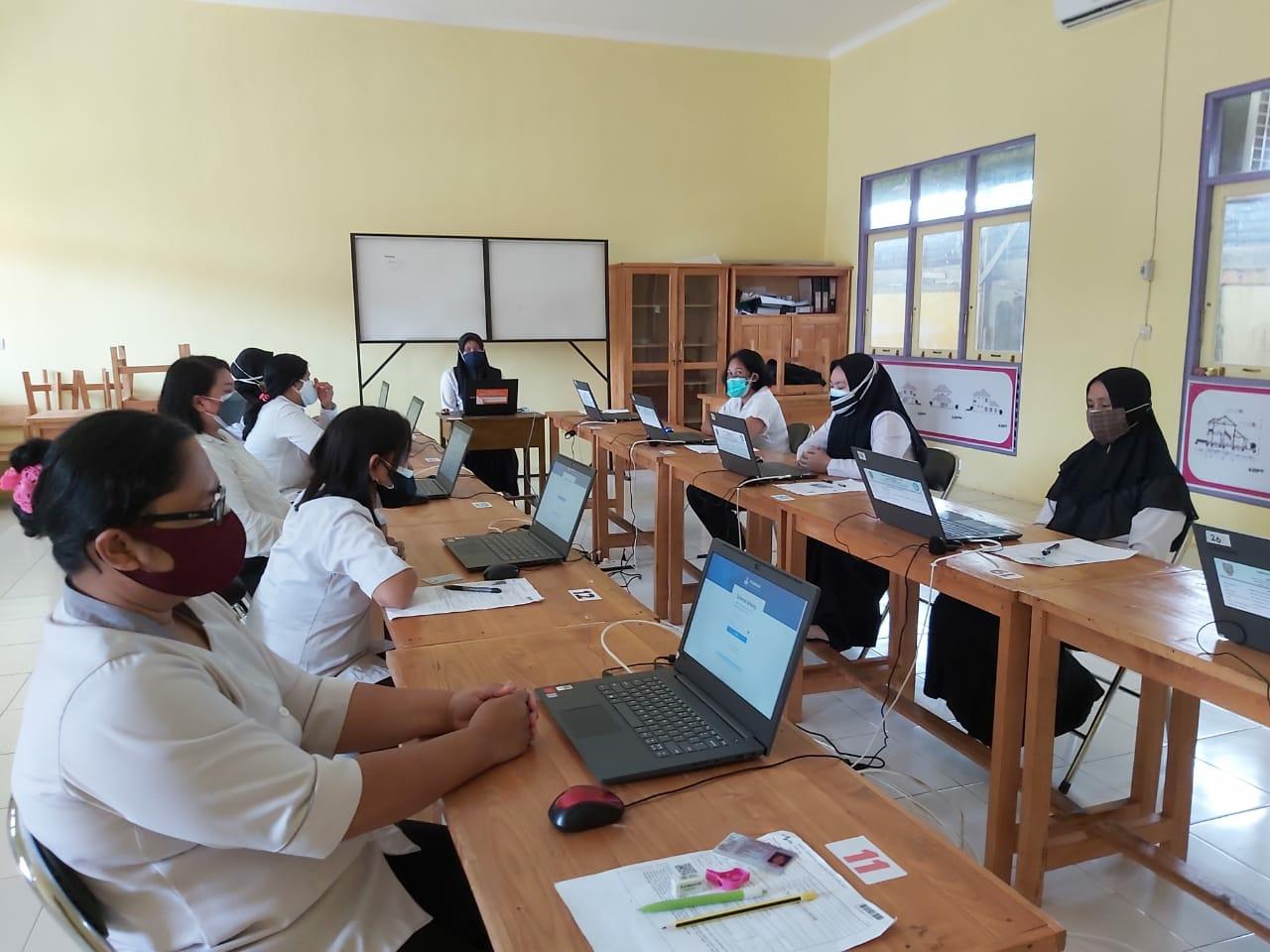 Pelaksanaan seleksi atau tes untuk menjadi Pegawai Pemerintah dengan Perjanjian Kerja (PPPK) di Kabupaten Barito Timur