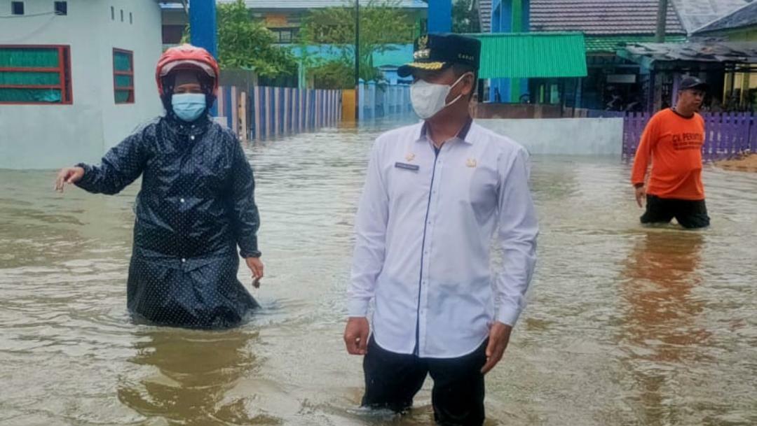 Kondisi banjir di Bartim
