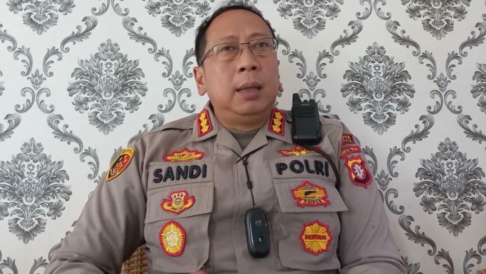 Kapolresta Palangka Raya Kombes Pol Sandi Alfadien Mustofa