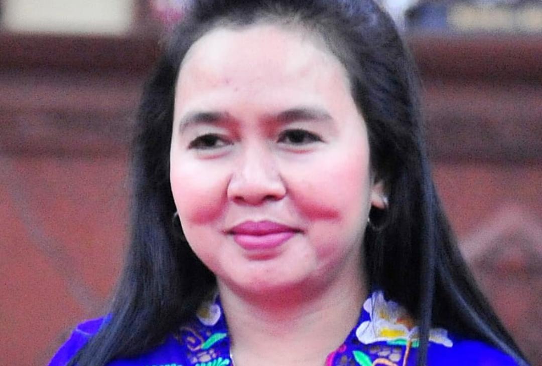 Anggota DPRD Kalimantan Tengah (Kalteng) dari Fraksi PDI Perjuangan, Hj. Maryani Sabran