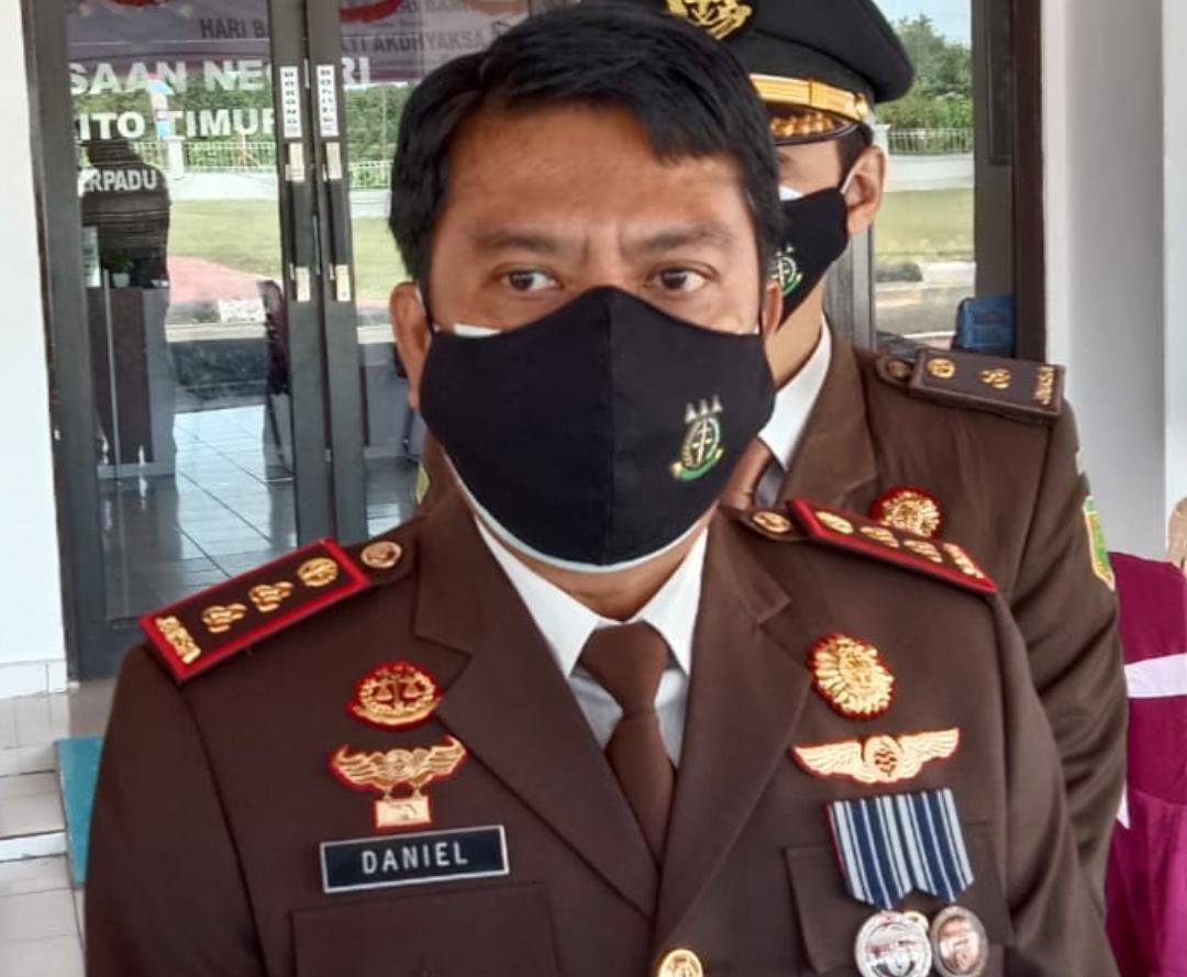 Kepala Kejaksaan Negeri Kabupaten Barito Timur, Kalimantan Tengah, Daniel Panannangan